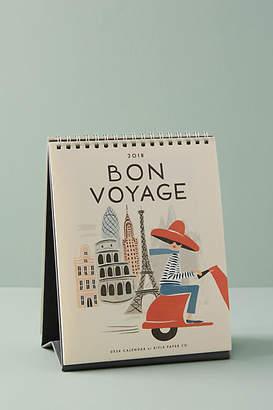 Rifle Paper Co. Bon Voyage 2018 Desk Calendar