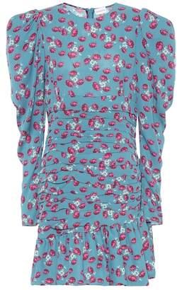 Magda Butrym Borneo floral silk minidress