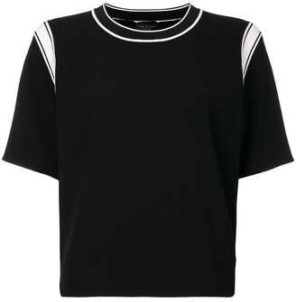 Rag & Bone contrast strap T-shirt