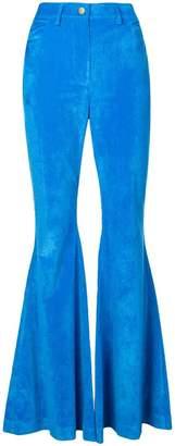 Rosie Assoulin high-waisted bootcut trousers