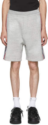 DSQUARED2 Grey Destroyed Shorts