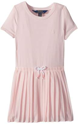 Polo Ralph Lauren Pleated Jersey T-Shirt Dress Girl's Dress