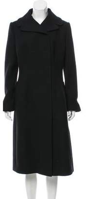 Dolce & Gabbana Structured Wool Coat w/ Tags