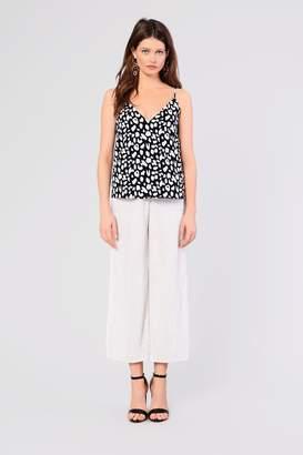 Glamorous Womens **Pleated Velvet Pants By White