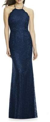 Dessy Collection Full Length Marquis Lace Dress