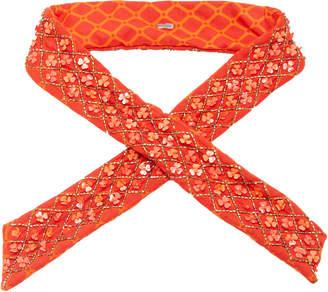 Deepa Gurnani Abilene Wire Headwrap