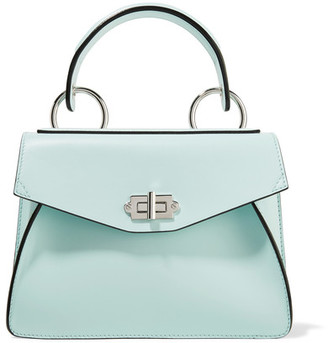 Proenza Schouler - Hava Small Leather Tote - Mint $1,650 thestylecure.com