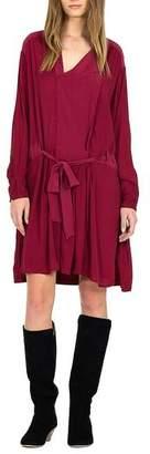 Magali Pascal Phoenix Shirtdress Raspberry