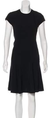 Stella McCartney Cap Sleeve Knee-Length Dress