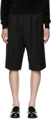 3.1 Phillip Lim Black Tapered Shorts