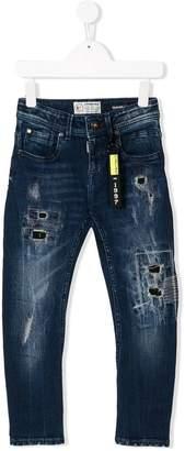 Vingino distressed stonewashed jeans
