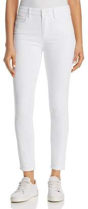 Paige Hoxton Ankle Skinny Jeans in Crisp White