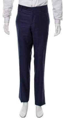 Emporio Armani Birdseye Dress Pants