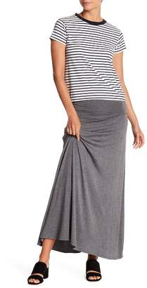 Bobeau Convertible Knit Maxi Skirt