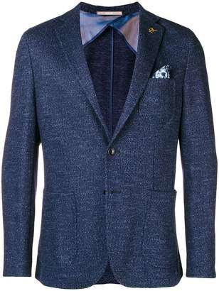 Paoloni classic fitted blazer