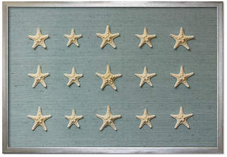 Karen Robertson Framed Knobby Starfish - Blue