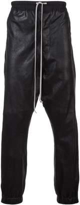 Rick Owens elasticated drawstring track pants