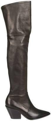 Casadei Block Heel Over-the-knee Boots