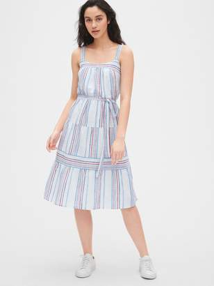 Gap Tiered Stripe Cami Dress