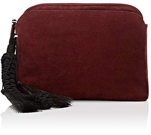 The Row THE ROW WOMEN'S MULTI-POUCH SUEDE WRISTLET