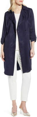 Ted Baker Bow Three-Quarter Sleeve Trench Coat