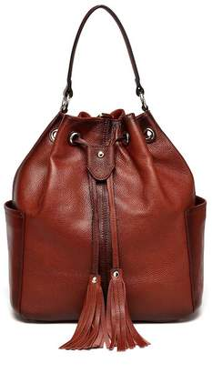 Vicenzo Leather Chalise Leather Bucket Bag Backpack