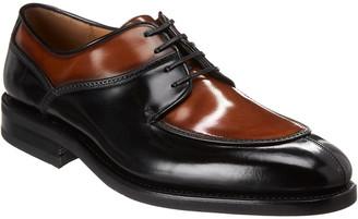 Salvatore Ferragamo Two Tone Derby Leather Oxford