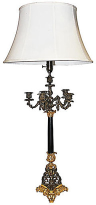 One Kings Lane Vintage 19th-C. French Table Lamp - House of Charm Antiques