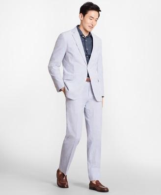 Brooks Brothers Regent Fit Stripe Seersucker Suit