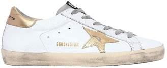 Golden Goose 20mm Super Star Embossed Leather Sneaker