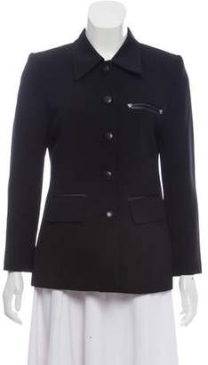 Versace Point Collar Jacket
