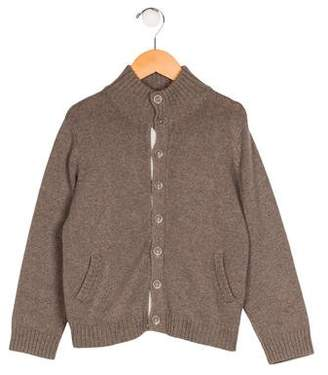 Marie Chantal Boys' Knit Button-Up Cardigan