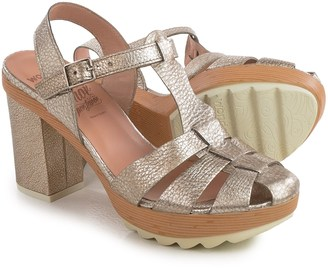 Wonders Strappy Platform Sandals - Leather (For Women) $69.99 thestylecure.com