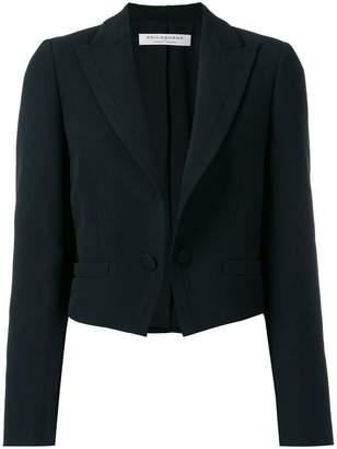 Philosophy di Lorenzo Serafini peaked lapels cropped jacket