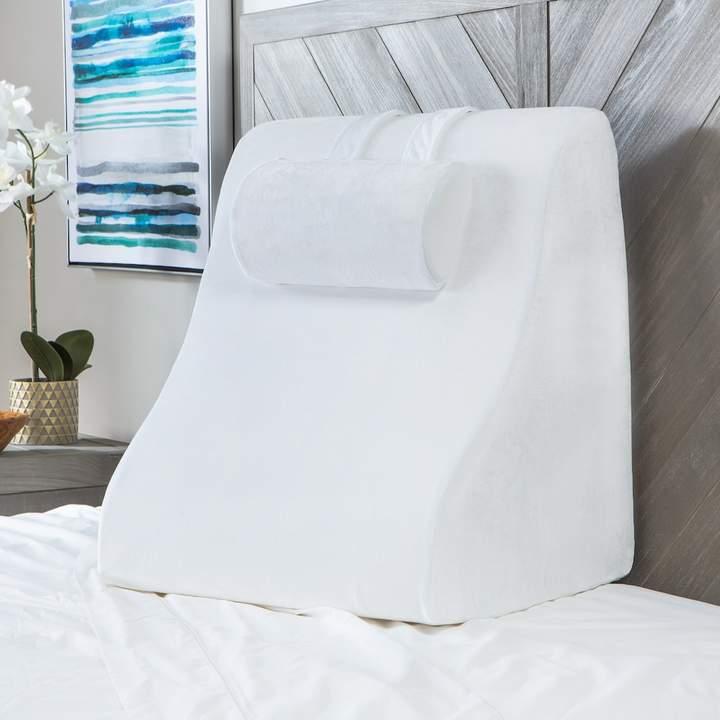 Sensorpedic SensorPEDIC Memory Foam Contour Bed Wedge with Adjustable Memory Foam Pillow