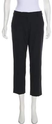 Diane von Furstenberg Wool-Blend Mid-Rise Pants
