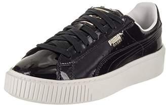 Puma Women's Basket Platform Patent WN's Field Hockey Shoe