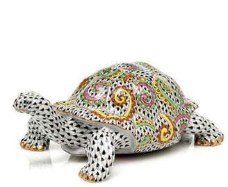 Herend Kaleidoscope Turtle Figurine