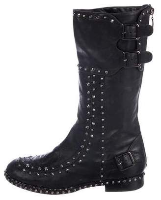 Laurence Dacade Leather Studded Boots