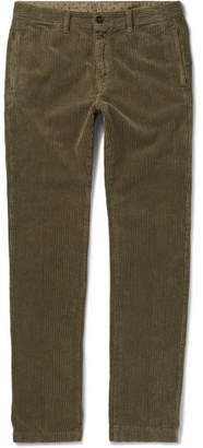 Massimo Alba Cotton-corduroy Trousers - Green