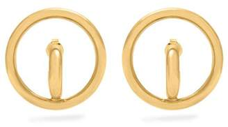 Charlotte Chesnais Saturn Vermeil & Silver Earrings - Womens - Gold