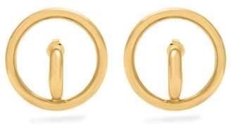 Charlotte Chesnais Saturn Gold Plated Earrings - Womens - Gold