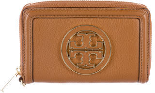 Tory Burch Tory Burch Pebbled Leather Wallet