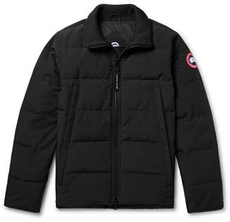 Canada Goose Woolford Slim-Fit Quilted Shell Down Jacket - Black