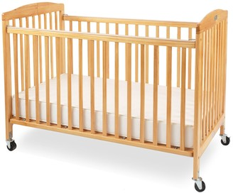 L.A. Baby Full Size Wood Folding Crib by