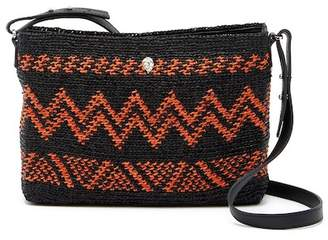 Helen Kaminski Zimala Leather Trimmed Crossbody Bag