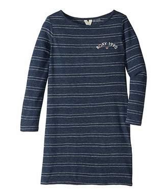 Roxy Kids Sweet Fruit Long Sleeve Dress (Big Kids)