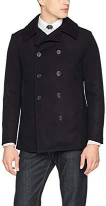 Sisley Men's Heavy Jacket (Navy Blue 06u), (Size: 44)