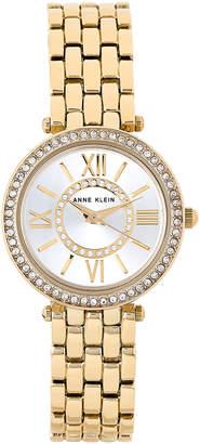 Anne Klein AK/2966 Two-Tone Crystal Watch