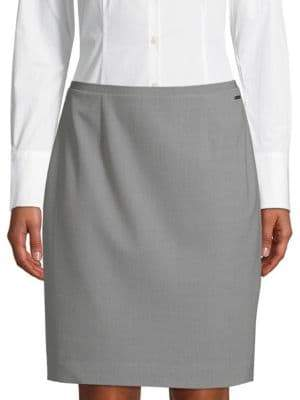 T Tahari Bennet Pencil Skirt